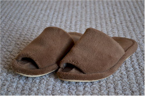 Our Full House Nature's Sleep Memory Foam Slipper Giveaway