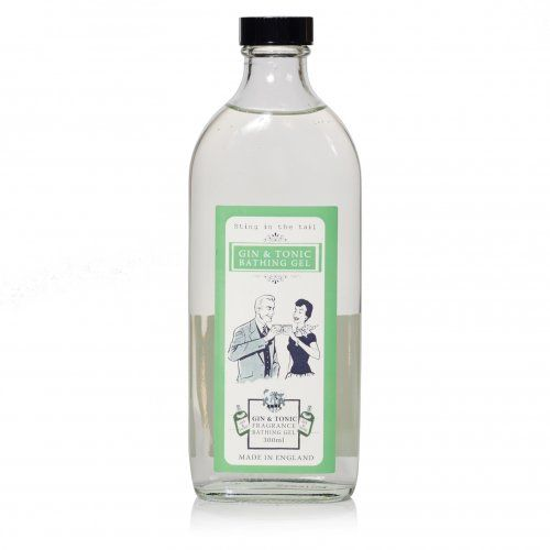 Relax in the bath with this zesty Gin & Tonic bath gel presented in a retro 1950's style glass bottle and smells just like the real thing, you can enjoy indulging without the hangover. The perfect gift for any Gin & Tonic lover.