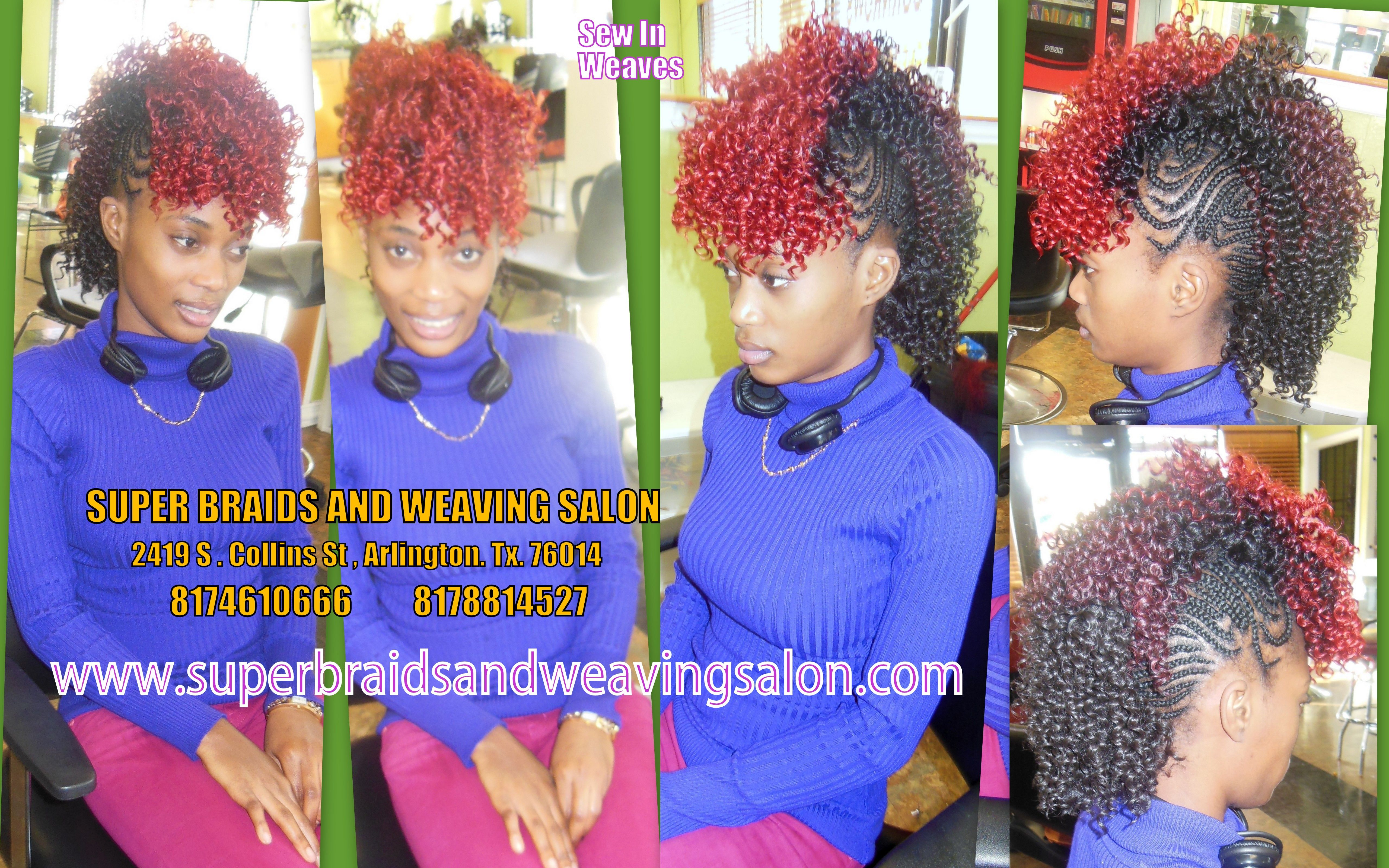 pin on sew in weaves