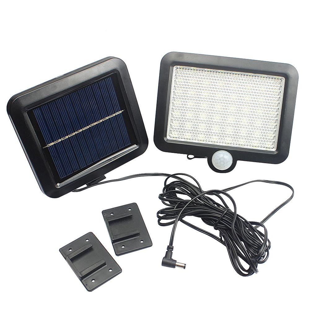 Outdoor Led Light New 56 Leds Solar Light Outdoor Led Solar Powered Garden Lights Pir Body