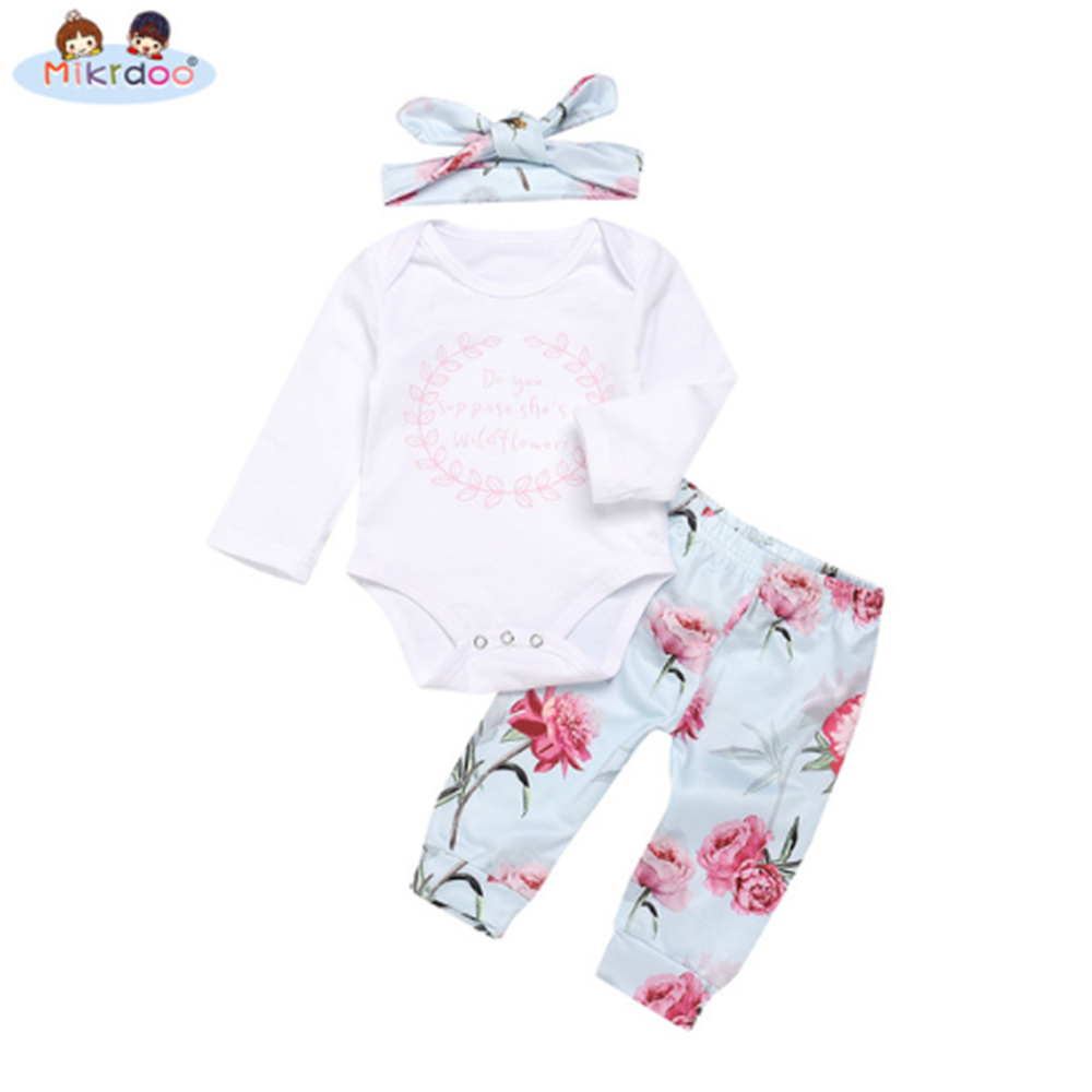 5148737dea02 2018 Newborn Infants Baby Boys Girls clothes baby cotton Rompers + ...