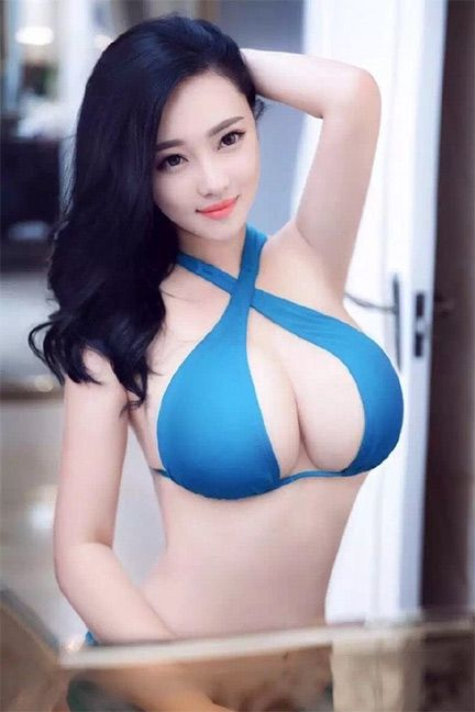 Asian girl busty
