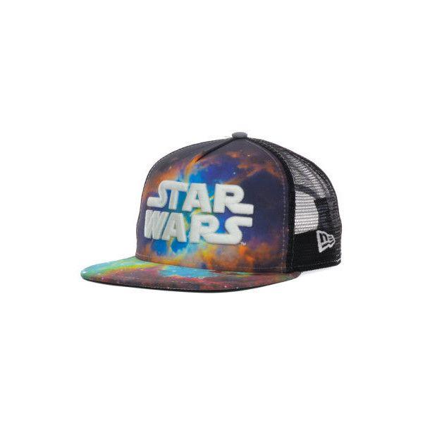 Star Wars Galaxy A-Frame 9FIFTY Snapback Cap (355 MXN) ❤ liked on ...
