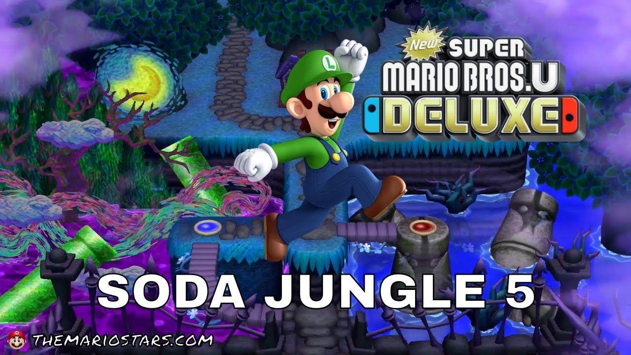 Nsmbud Soda Jungle 5 Nintendo Switch Games Nintendo Switch