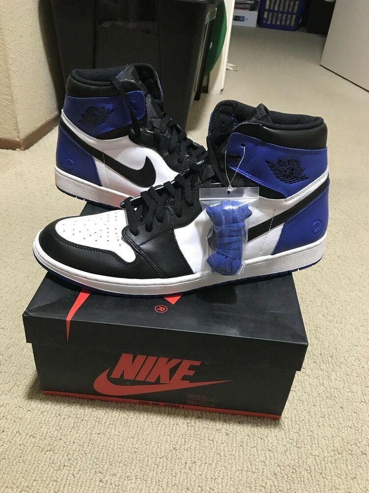 90a3b22eeb4 New Nike Air Jordan 1 High Og Fragment Design Sz 17 1 2 3 4 5 6 7 8 ...