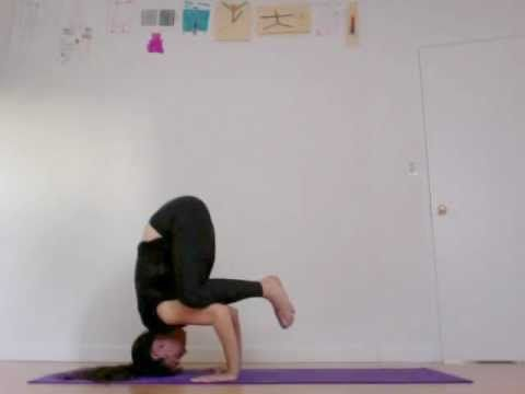 how to do unassisted headstand basics yoga instruction