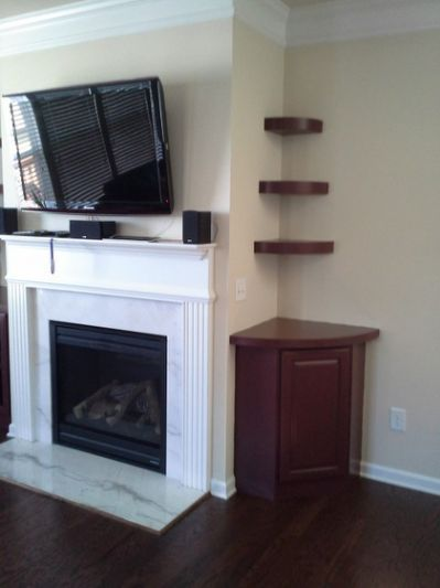 fireplace built ins with staggered fireplace pinterest