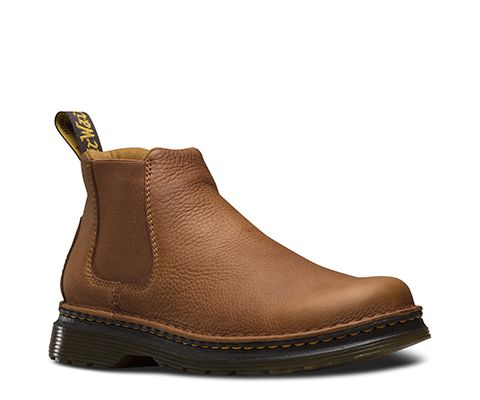 dr martens oakford grizzly  chelsea boots men boots