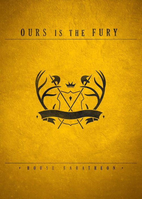 Game of Thrones Crest Redesigns: House Baratheon - Grant Shepley