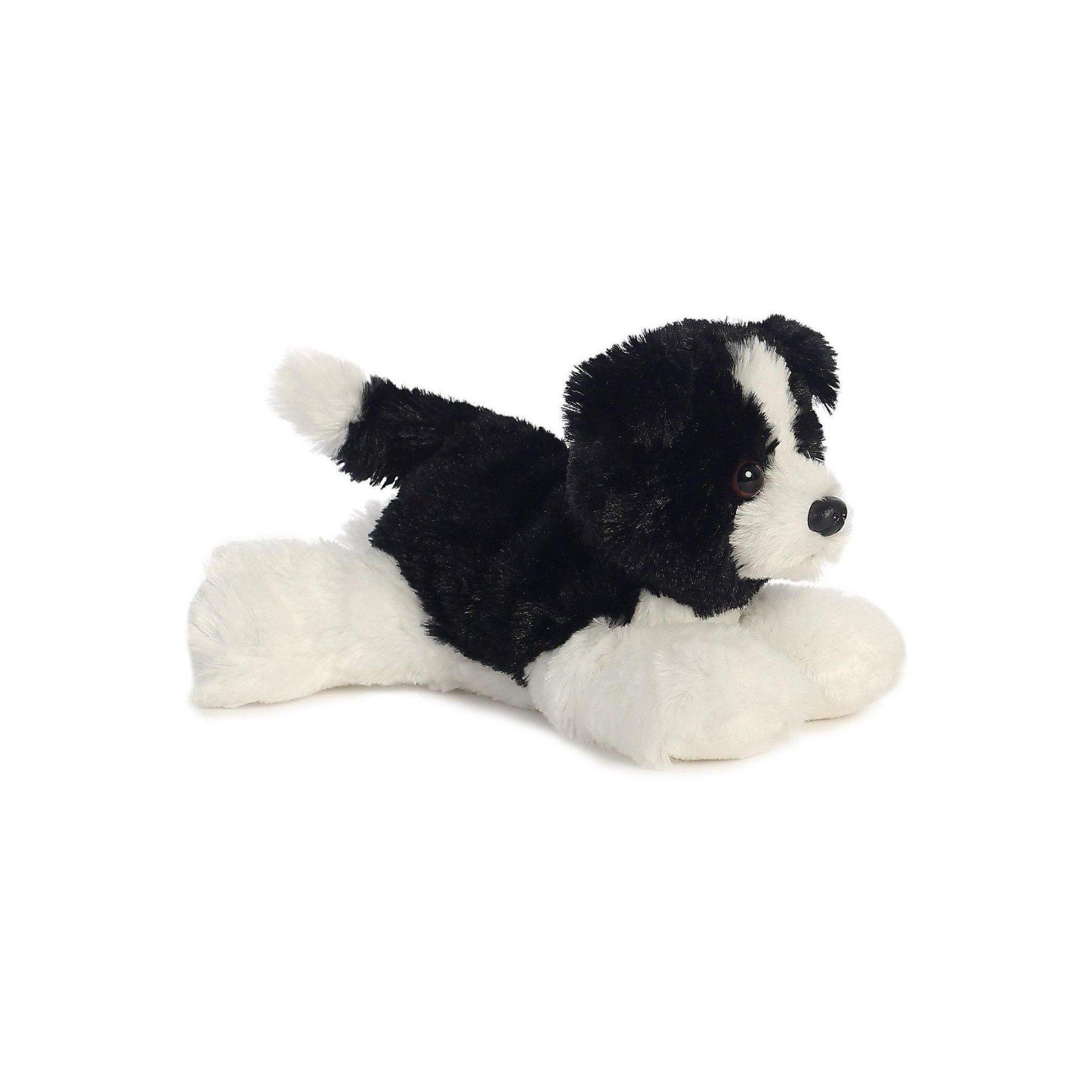 Cami Border Collie Mini Flopsie 8 Inch Stuffed Animal By Aurora