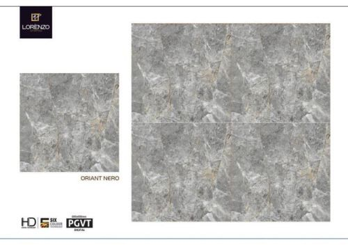 Millennium Tiles 600x600mm (24x24) Digital PGVT Vitrified...  Millennium Tiles 600x600mm (24x24) Digital PGVT Vitrified Lorenzo Porcelain HD Tiles Series. https://goo.gl/tpspGg - Oriant Nero #digital #pgvt #vitrified #porcelain #tile #interiordesign #export #homeimprovement #carrelages #fliesen #tegel