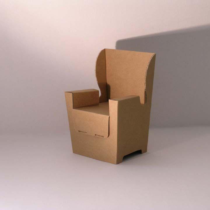 poltrona cartone - Cerca con Google