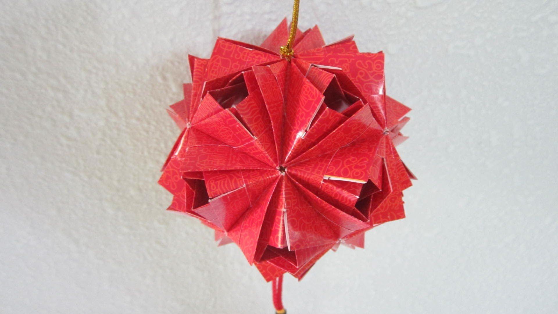 Cny Tutorial No 26 30 Unit Etna Kusudama Creator Ms Maria Sinayskaya Modular Origami