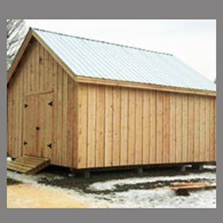 16x20 Barn kits, post and beam barn plans, timber frame barn kits