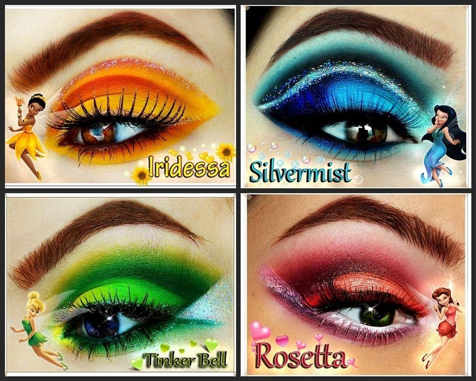 Disney Fairies Ig Katelynnrose91 Tinkerbell Rosetta Silvermist Iridessa Disney Eye Makeup Fairy Eye Makeup Tinkerbell Makeup