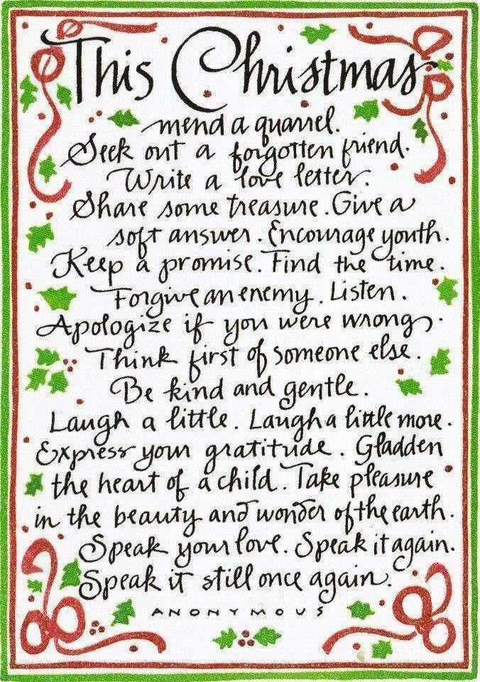 Good advice Christmas Pinterest Advice, Holidays and Cards