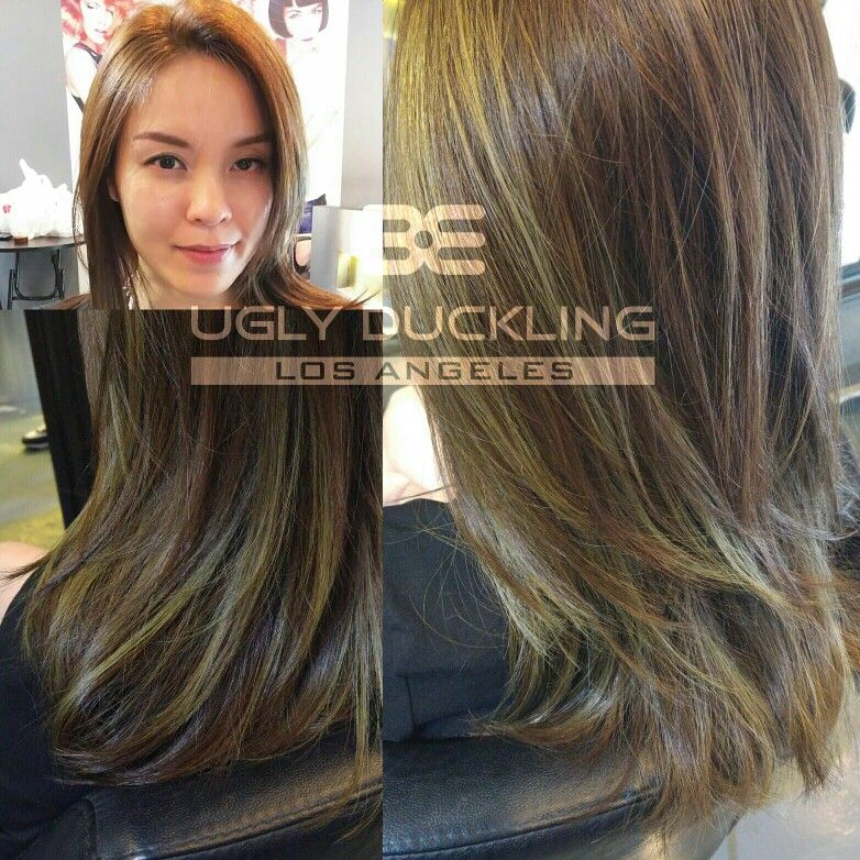 Ash Green Ash Brown By Ugly Duckling 2018 Master Coloring Hair