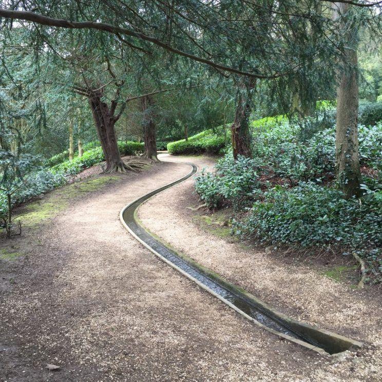 Rousham water rill - Kent   plant irrigation DIY & tips   Pinterest ...