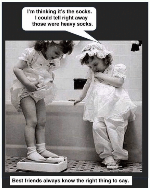 I'm Thinking It's the Socks I Could Tell Right Away Those Were Heavy Socks Best Friends Always Know the Right Thing to Say   Friends Meme on ME.ME