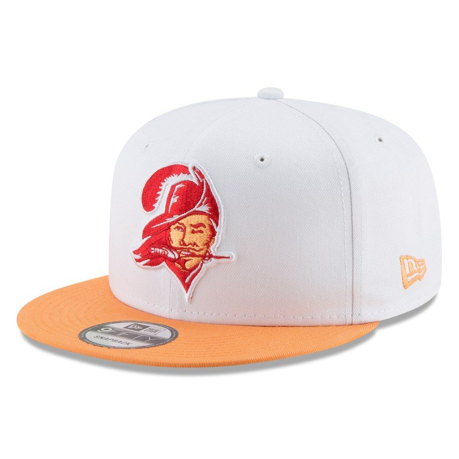 brand new 3fbe6 fd2c2 Men s Tampa Bay Buccaneers New Era White Throwback 9FIFTY Adjustable Snapback  Hat,  27.99