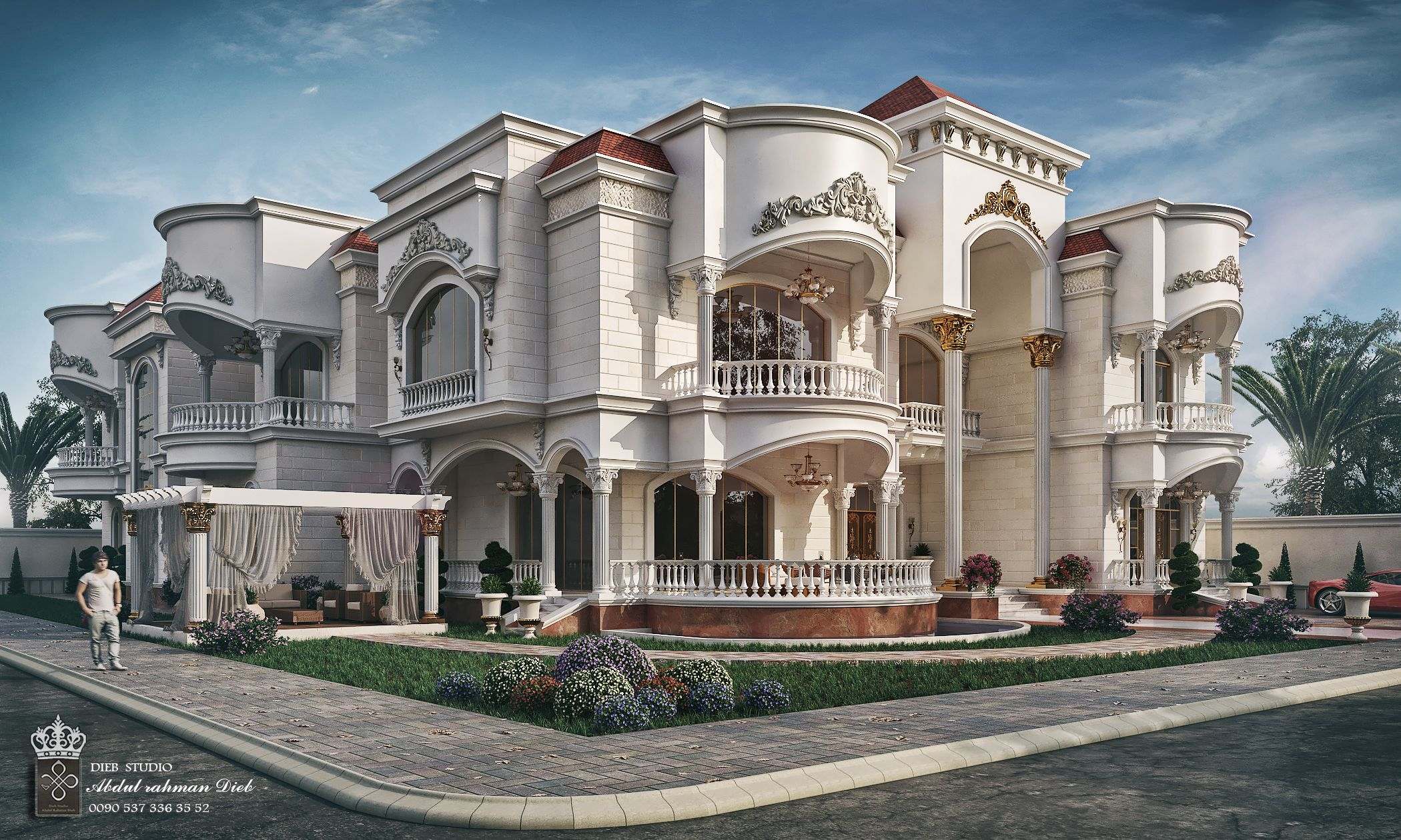 Exterior Luxury Villa Design Trendecors