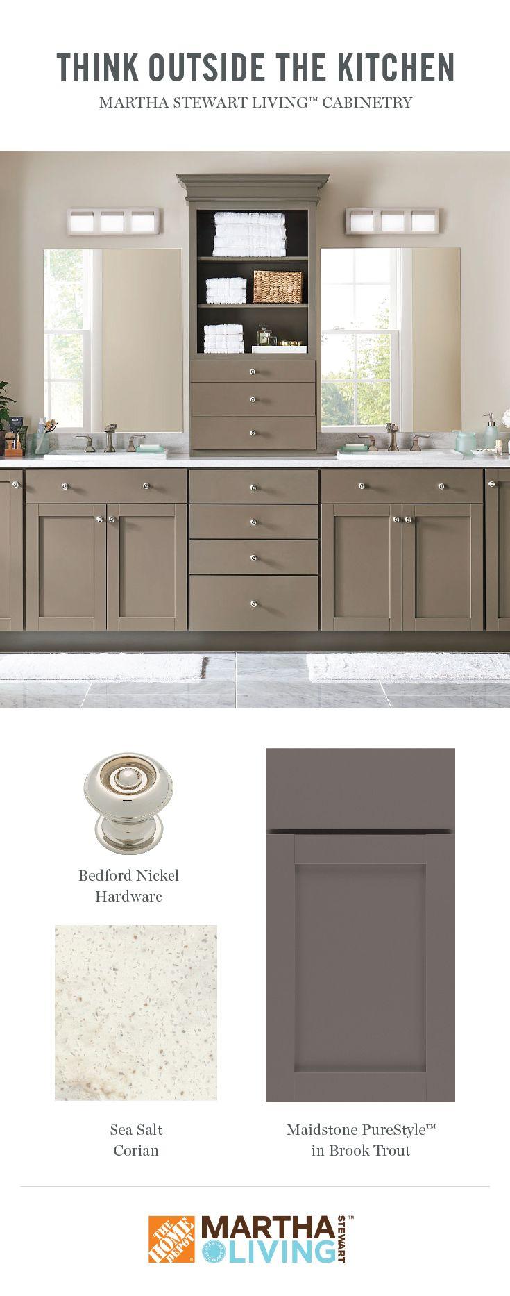 Martha Stewart Living Kitchens At The Home Depot Home Depot Bathroom Kitchen Cabinet Storage Solutions Kitchen Cabinet Storage
