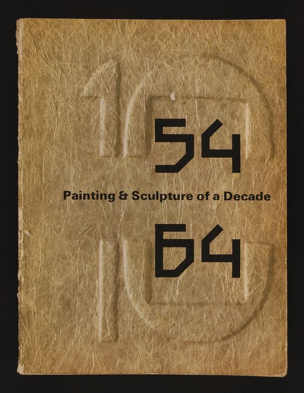 Painting & Sculpture of a Decade