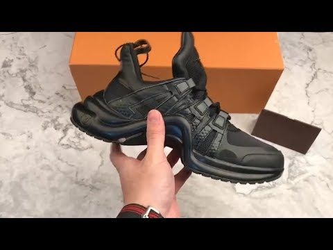 30b3d12eb09b First look Louis Vuitton SS18 Sci-fi sneakers Ugly Dad Shoes   Shoe ...