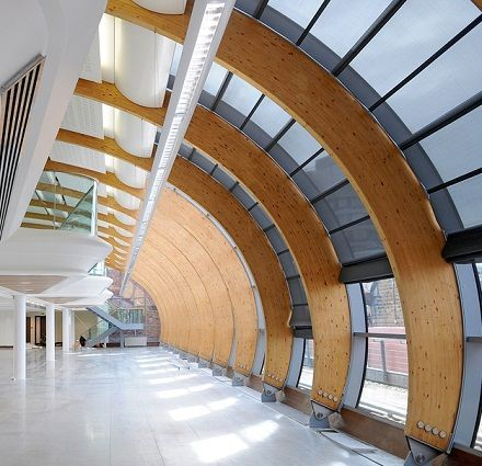 Glue Laminated Wooden Truss Google Search Designing Urban Mobility Pinterest Architecture