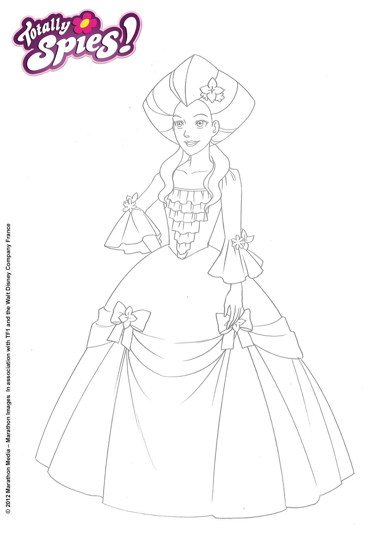 Beau Dessin à Imprimer Princesse Et Prince