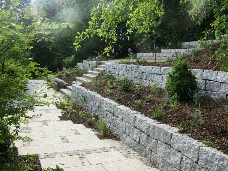 Pin de tereulate en jardines en terreno inclinado en for Jardines en pendiente