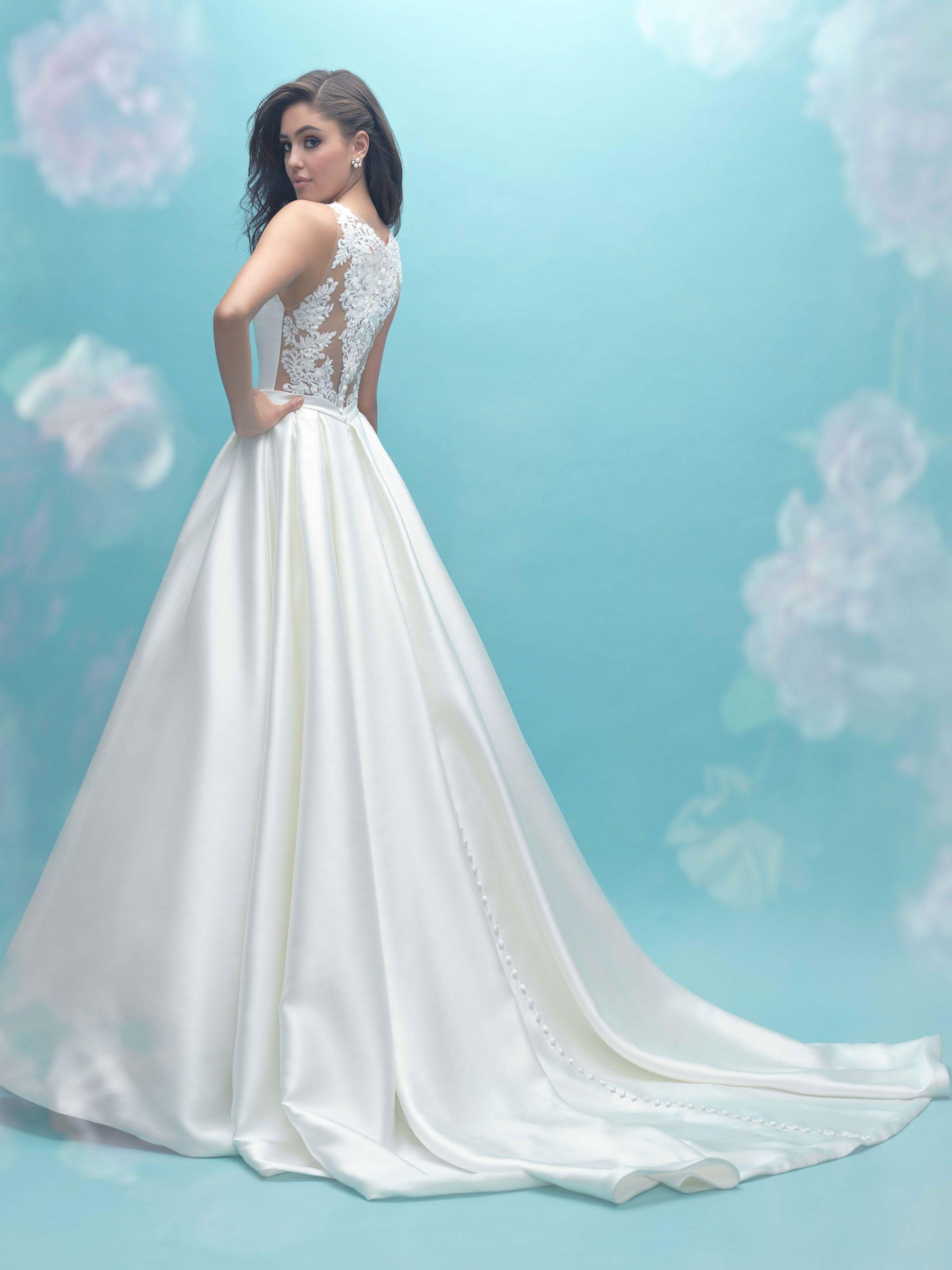 Allure 9473 Back Popular Wedding Dresses Bridal Gowns Tiffany Blue Weddings: Tiffany Blue Wedding Dress At Reisefeber.org