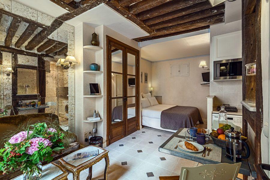 The Very Pretty Rue De Grenelle Studio In St Germain Luxury Travel