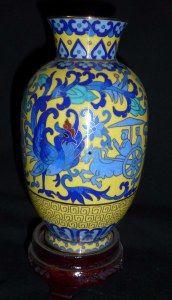 Cloisonné-Vase-One