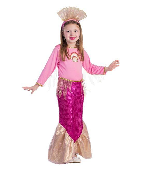 9885f7ec48 Pink Mermaid Dress-Up Set - Toddler   Girls