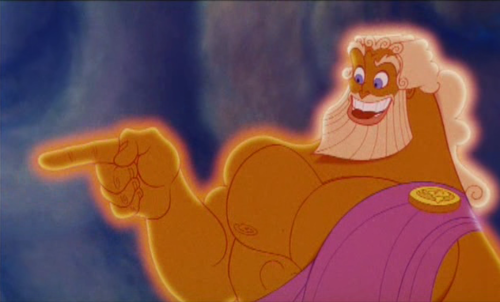 Zeus In The 1997 Disney Movie Hercules In This Depiction