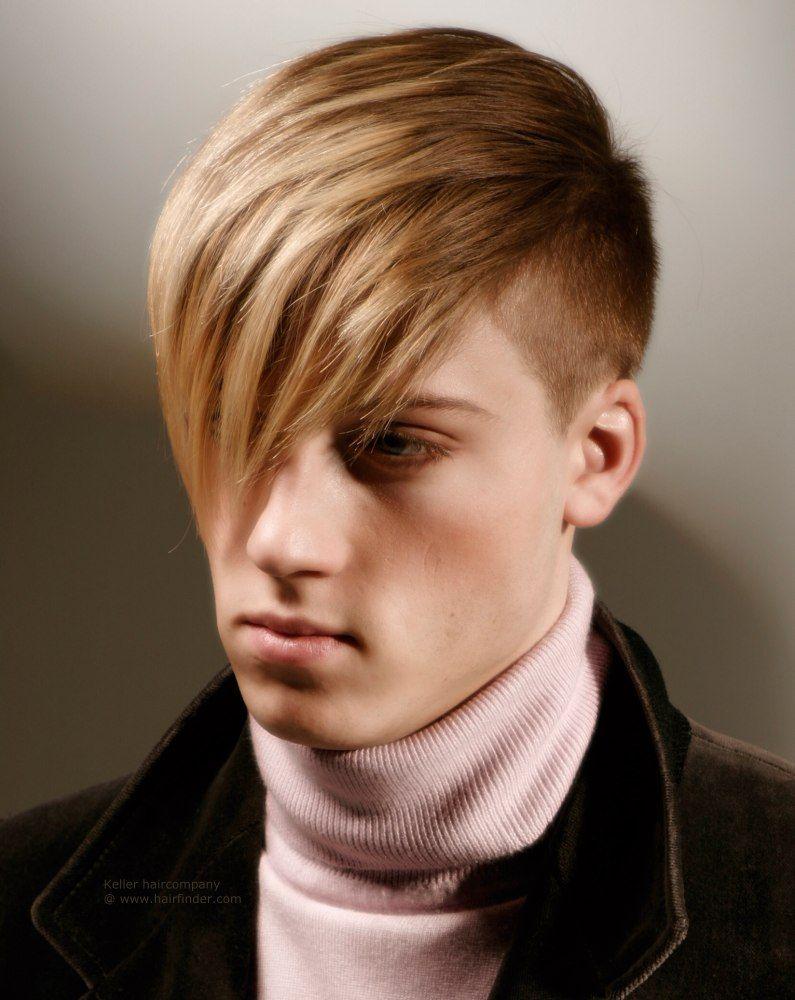 Short Sided Long Fringe Emo Hairstyles For Guys Emo Hair Curly Hair Men