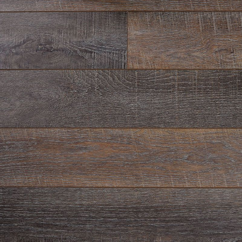 Chocolate tones run through this vintage-style wood-effect