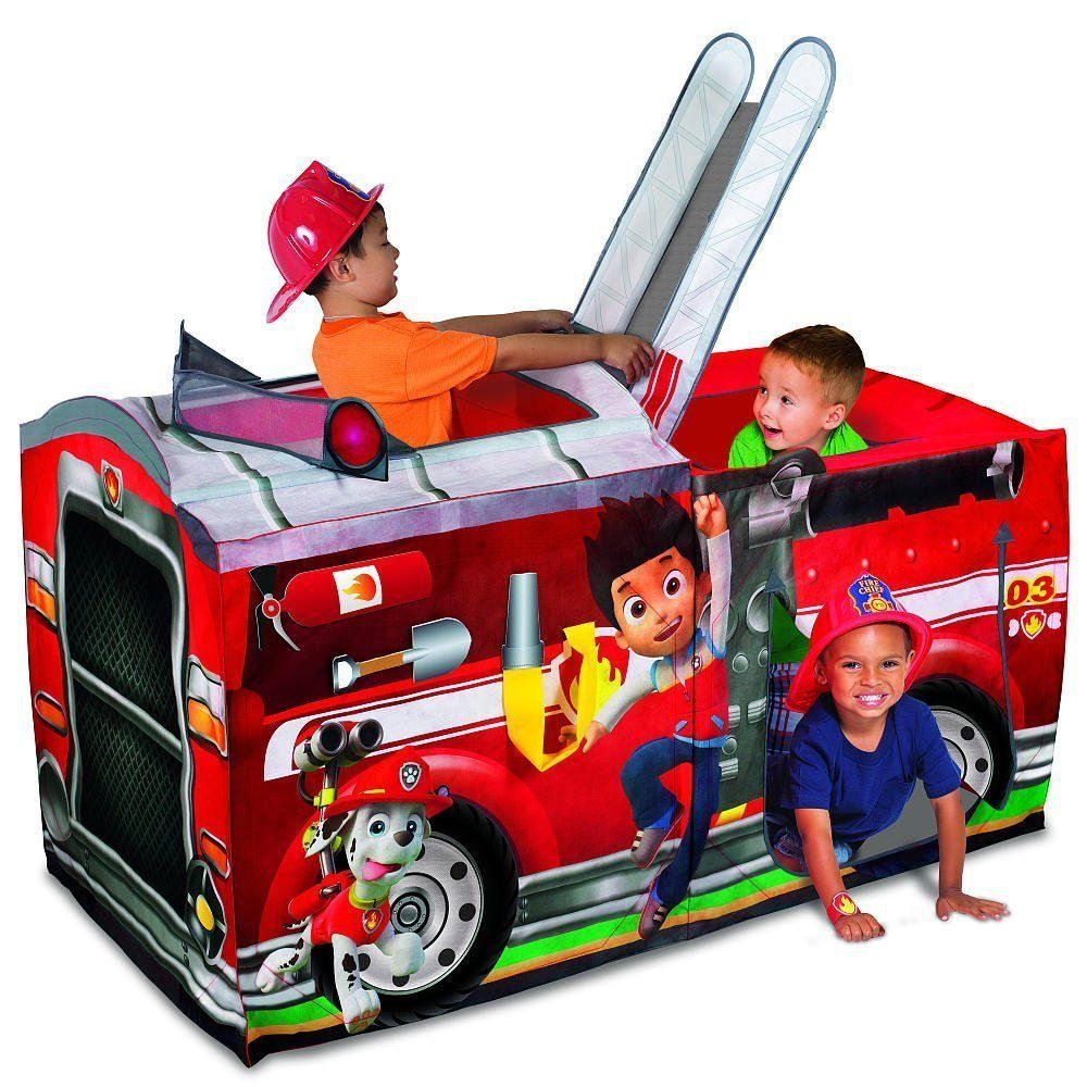 Paw Patrol Playhut Fire Truck Playhouse Kids Tent Nickelodeon Fort Indoor New  sc 1 st  Pinterest & Paw Patrol Playhut Fire Truck Playhouse Kids Tent Nickelodeon Fort ...
