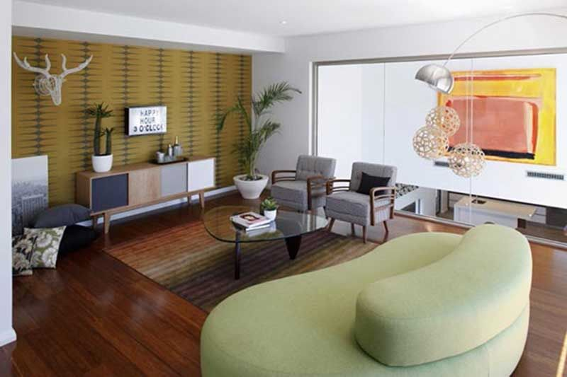 Modern House Design With Twostorey  Deer Head With Antlers In A Glamorous Living Room Designer Tool Inspiration