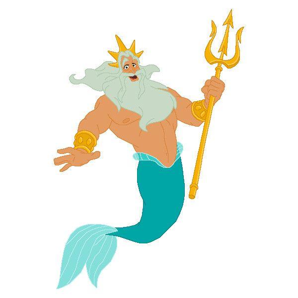 Картинка нептуна морского царя анимация, для дочери