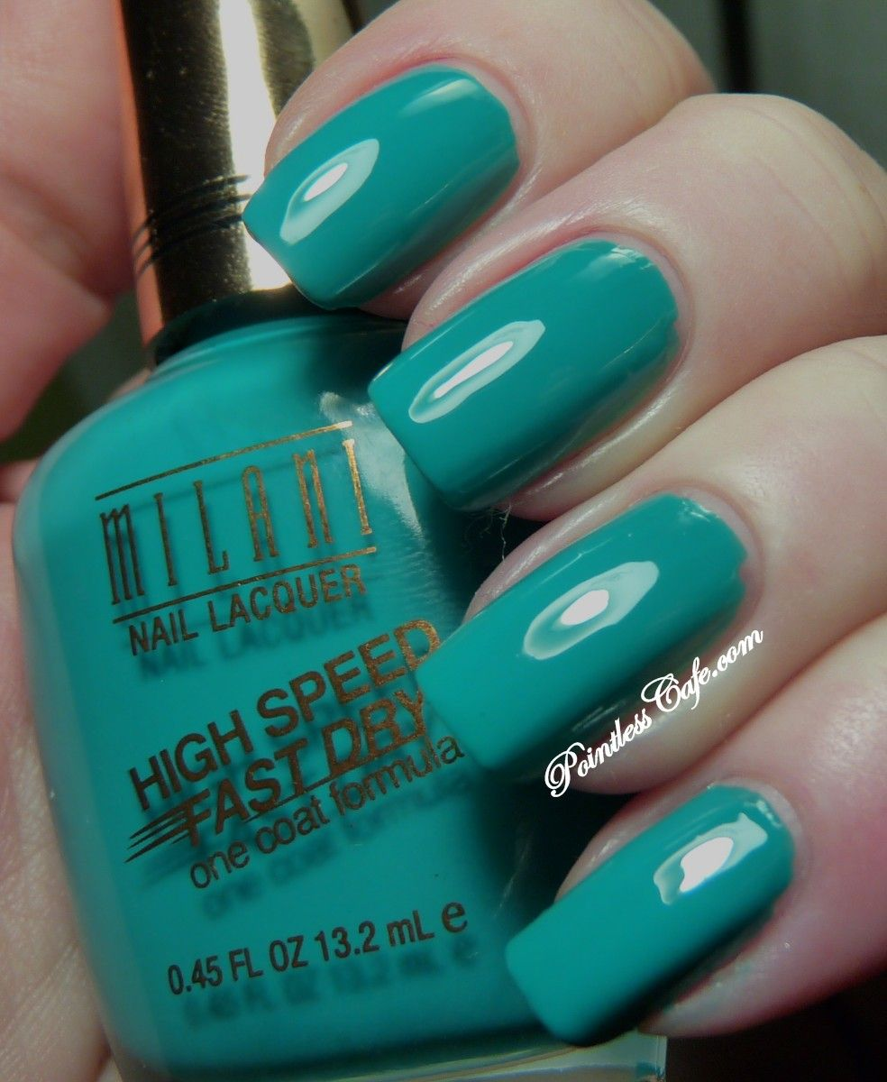Milani - New Collection 2013 High Speed Fast Dry QUICK TEAL ...