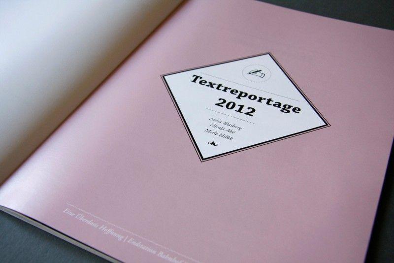 N-Ost Reportagepreis 2012 #design #editorial
