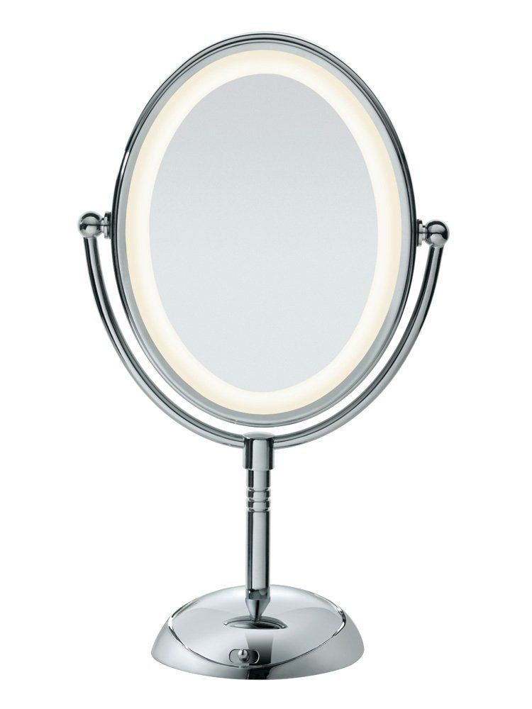 Conair Double Sided Lighted Make Mirror With Led Lights Makeup Mirror With Lights Makeup Mirror