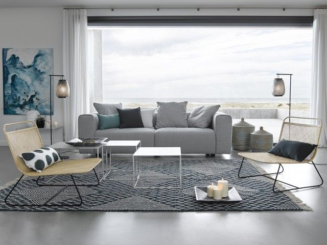 la d co bord de mer revisit e deco maison mer pinterest salon bord de mer bord et salon. Black Bedroom Furniture Sets. Home Design Ideas