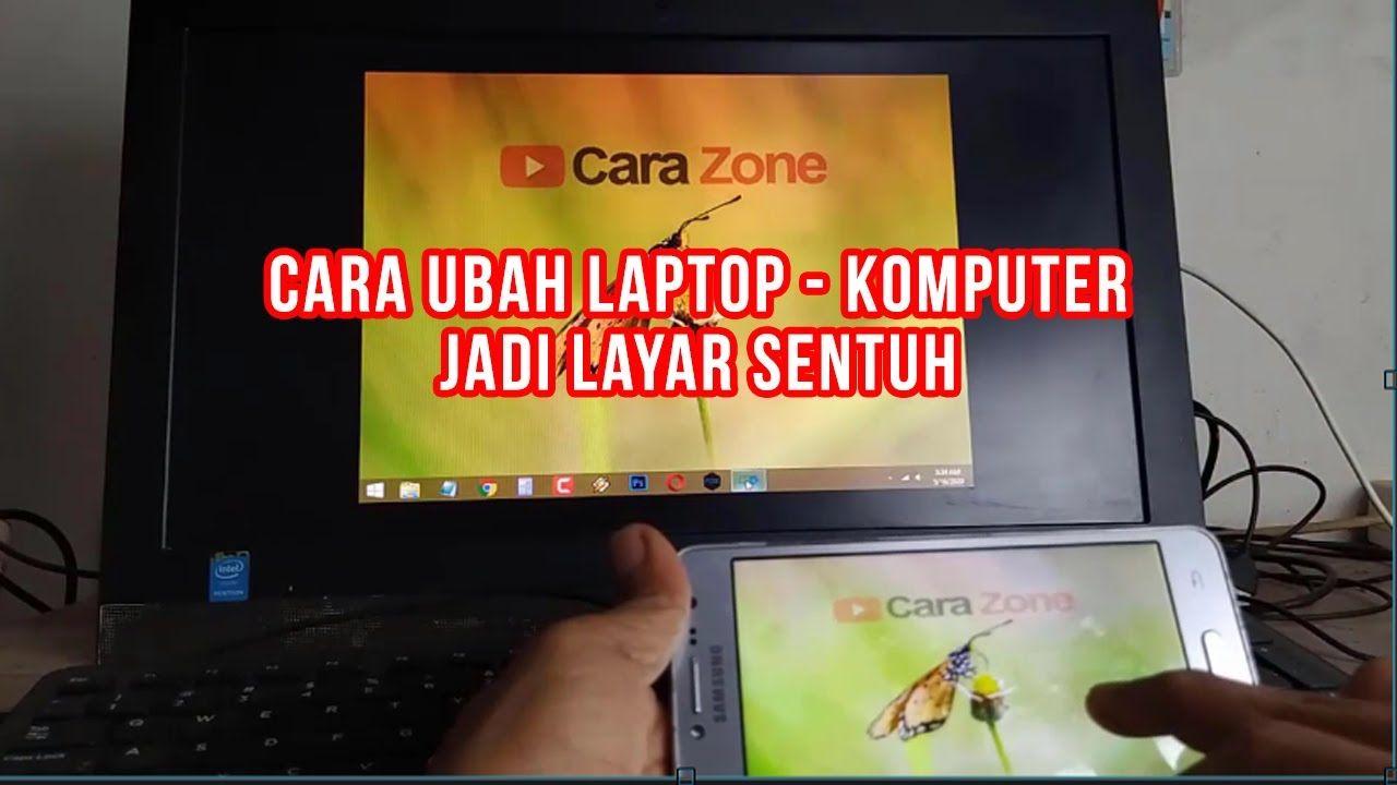 Cara Mengubah Laptop Komputer Jadi Touch Screen Layar Sentuh Tanpa Biaya Tambahan