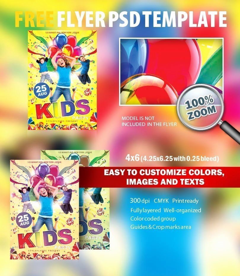 25 Free Flyers Template Download in 2020 Free business