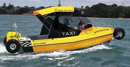 Amphibious boat - taxi version | Taxi | Boat, Taxi ...