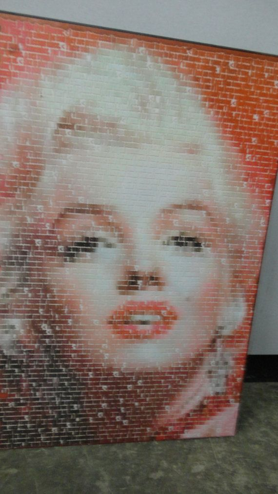 Vintage Marilyn Monroe Quotes By Marilyn Wall by tennesseehills, $58.00