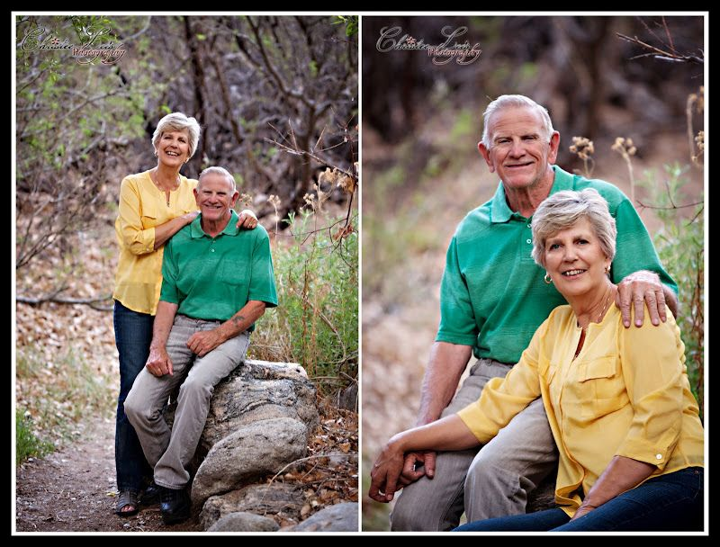 Classy and sweet 50th anniversary portraits by christee lees